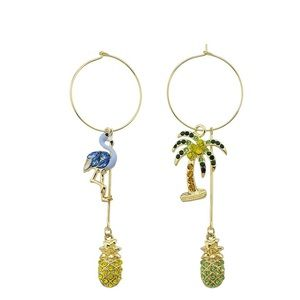 Jewelry - Pineapple 🍍 Summer Hoops